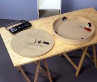 eine drehbare garderobe selber bauen. Black Bedroom Furniture Sets. Home Design Ideas
