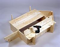 sandkiste als segelschiff selber bauen. Black Bedroom Furniture Sets. Home Design Ideas
