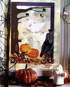 Fensterbild zu halloween basteln - Halloween fensterbilder ...
